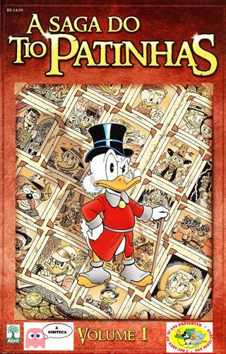 Download de Revista A Saga do Tio Patinhas - 01