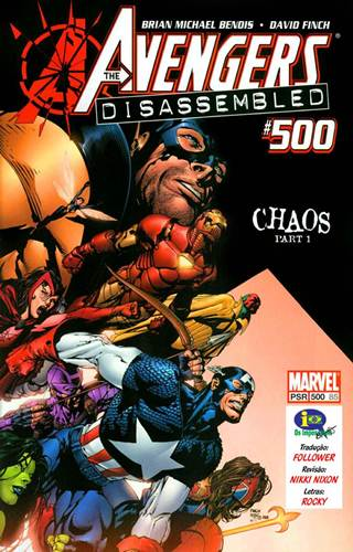 Download de Revista  Vingadores - 500