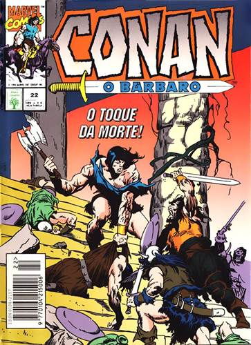 Download de Revista  Conan, O Bárbaro - 022