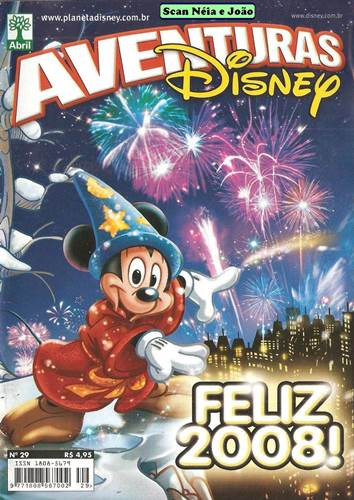 Download de Revista  Aventuras Disney - 29