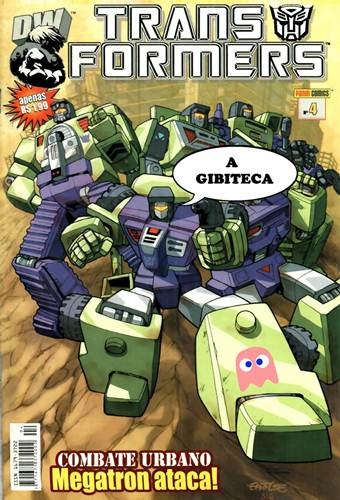 Download de Revista  Transformers - 04
