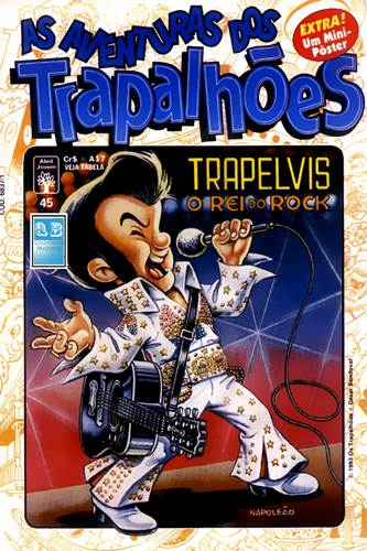 Download de Revista  As Aventuras dos Trapalhões - 45