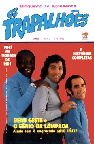 Download de Revista Os Trapalhões (Ed. Bloch) - 002