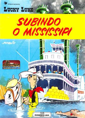 Download de Revista  Lucky Luke - Subindo o Mississipi