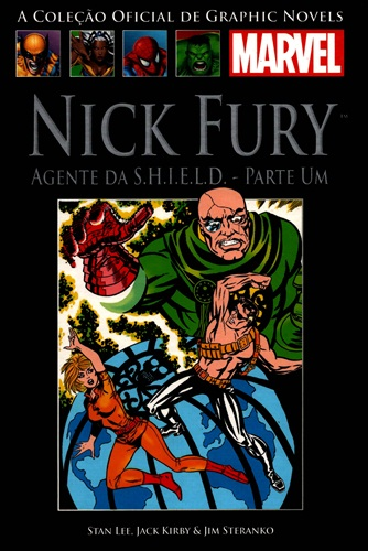 Download de Revista Marvel Salvat Clássicos - 08 - Nick Fury Agente da SHIELD - 01