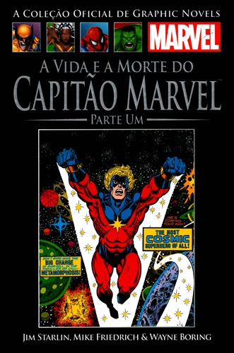 Download de Revista Marvel Salvat Clássicos - 24 - Vida e Morte do Capitão Marvel 01