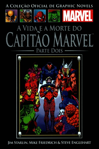 Download de Revista Marvel Salvat Clássicos - 25 - Vida e Morte do Capitão Marvel 02