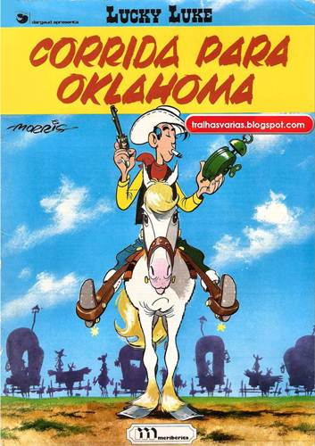 Download de Revista  Lucky Luke - Corrida Para Oklahoma