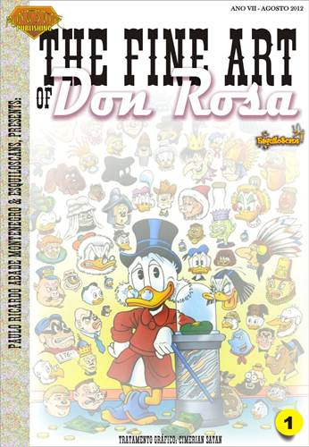 Download de Revista  The Fine Art of Don Rosa - 01