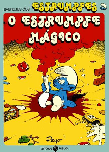 Download de Revista  Smurfs : O Estrumpfe Mágico