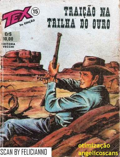 Download de Revista  Tex 015 - Traição na Trilha do Ouro