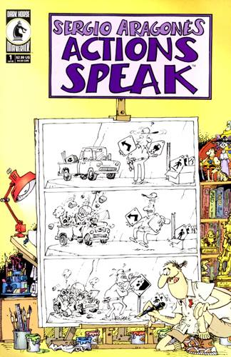 Download de Revista  Sergio Aragonés Actions Speak - 01