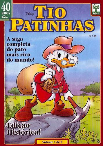 Download de Revista  Tio Patinhas 40 Anos da Revista 01 : Saga do Tio Patinhas