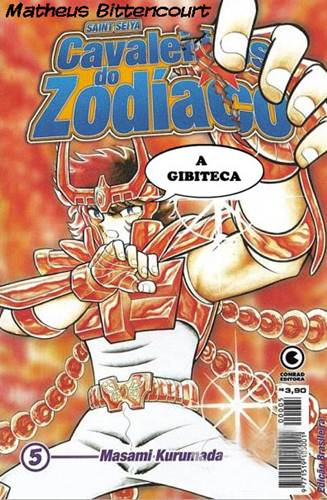 Download de Revista  Cavaleiros do Zodíaco - 05