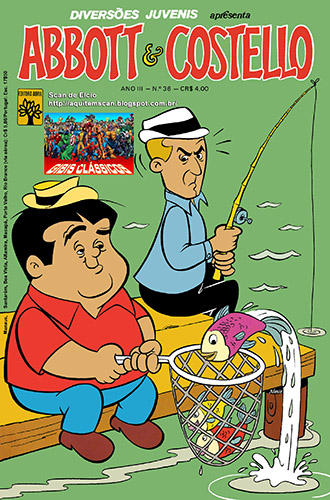 Download de Revista Diversões Juvenis - 36 - Abbott & Costello