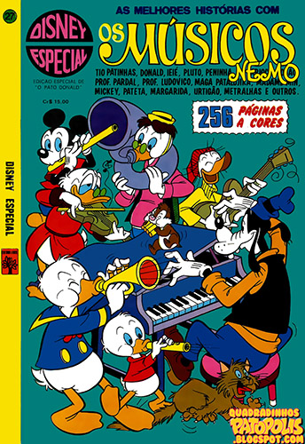 Download de Revista Disney Especial - 027 : Os Músicos