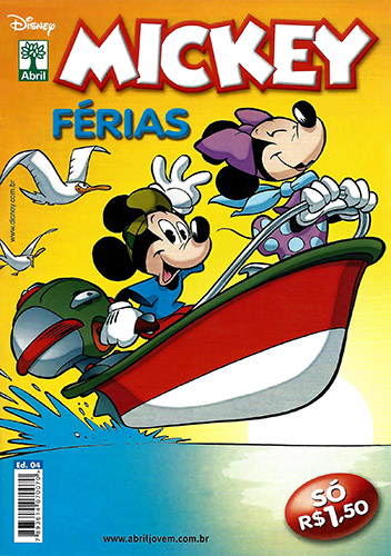 Download de Revista  Mickey Férias - 04