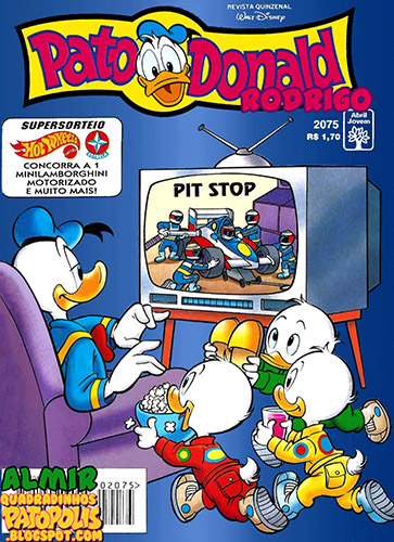 Download de Revista  Pato Donald - 2075