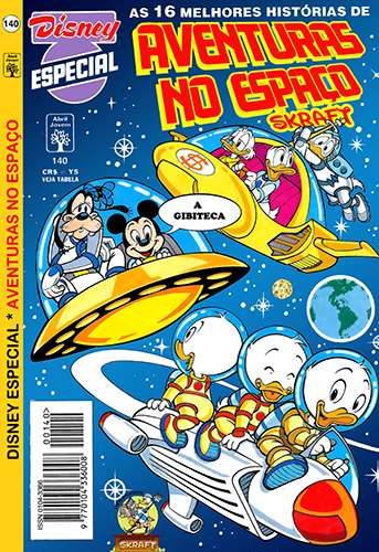 Download de Revista  Disney Especial - 140 : Aventuras no Espaço