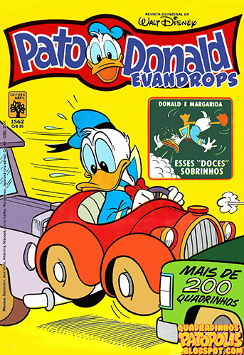 Download de Revista  Pato Donald - 1562