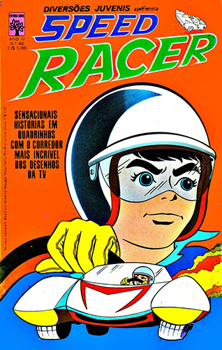 Download de Revista  Diversões Juvenis 40 : Speed Racer
