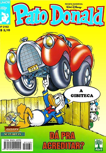 Download de Revista Pato Donald - 2162