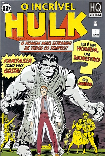 Download de Revista  O Incrível Hulk v1 001