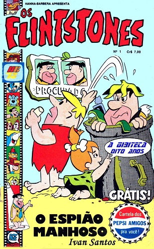 Download de Revista  Os Flintstones (RGE) - 01