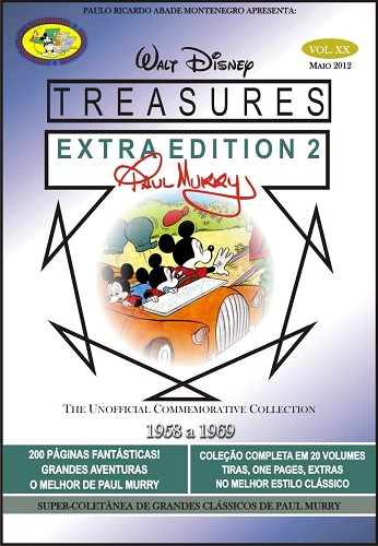 Download de Revista Walt Disney Treasures - Paul Murry Vol. Extra 02