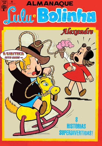 Download de Revista Almanaque Lulu e Bolinha (Abril) - 19