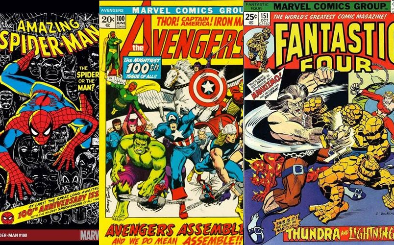 Download de Revista Marvel Comics : 1970 - 1974 [Inglês]