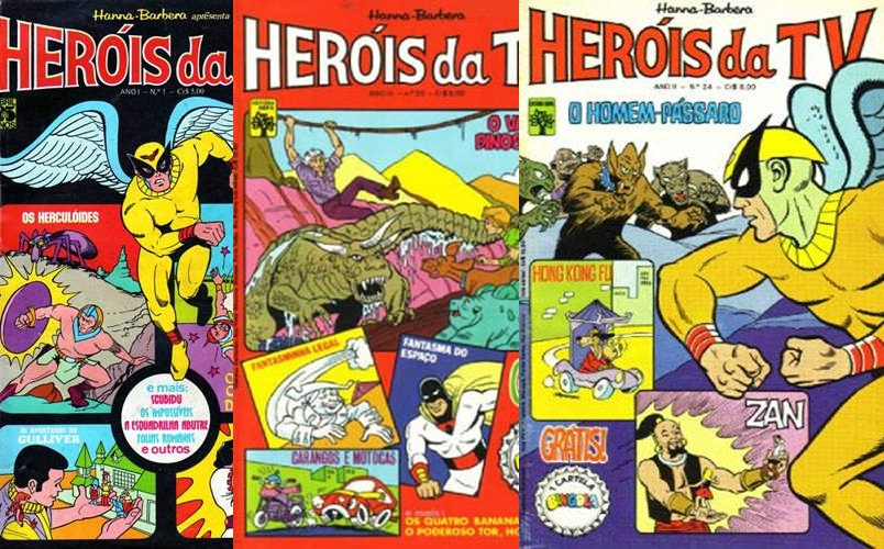 Download de Revista Hanna-Barbera - Heróis da TV