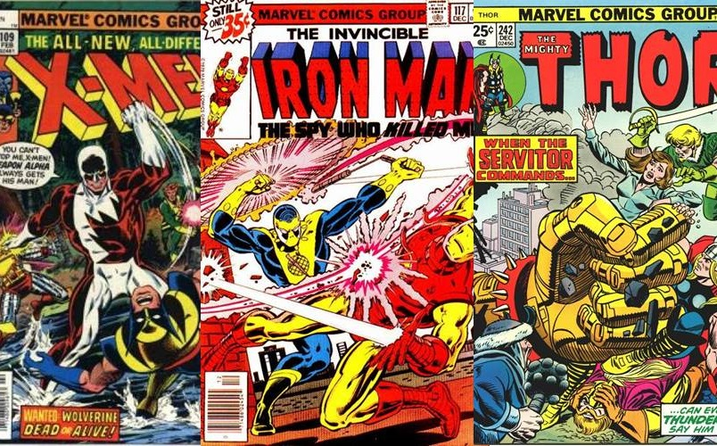 Download de Revista Marvel Comics : 1975 - 1979 [Inglês]