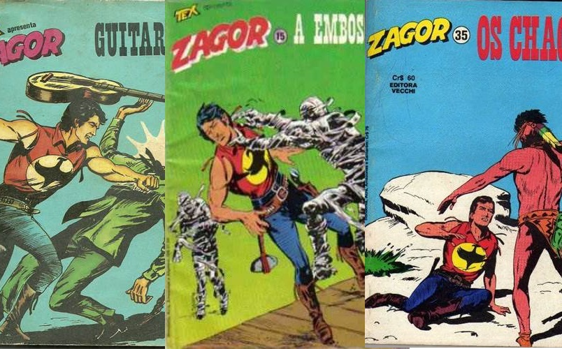 Download de Revista Zagor (Editora Vecchi)