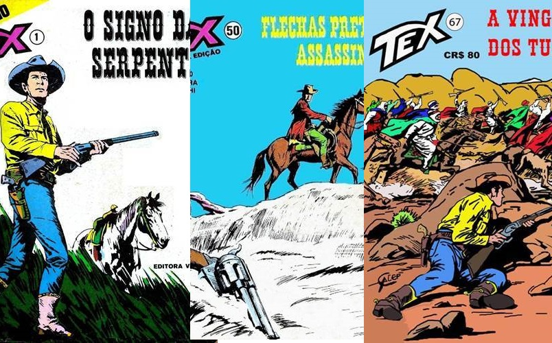 Download de Revistas  Tex Números 001 a 100