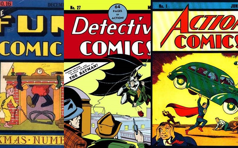 Download DC Comics : 1935 - 1940 [Inglês]