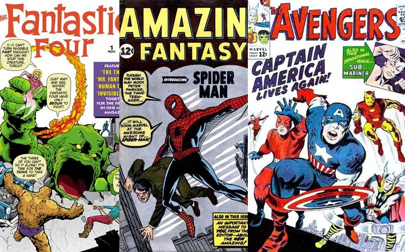 Download de Revista Marvel Comics : 1960 - 1964 [Inglês]