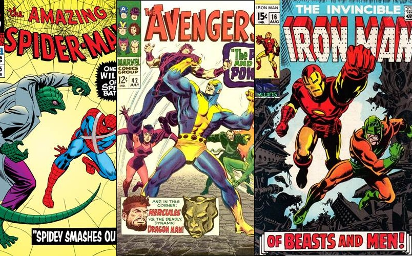 Download de Revista Marvel Comics : 1965 - 1969 [Inglês]