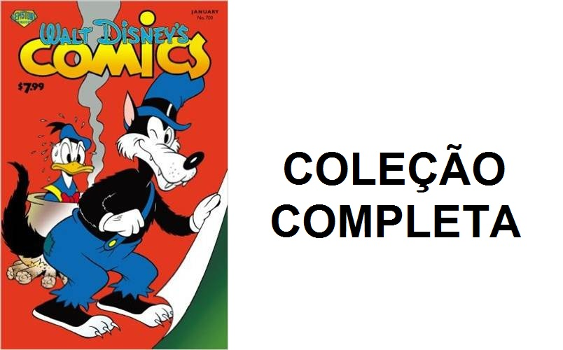 Download de Revista Walt Disney Comics & Stories [Inglês]