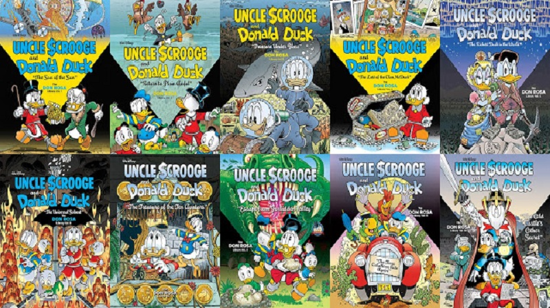 Download de Revista Uncle Scrooge and Donald Duck: The Don Rosa Library