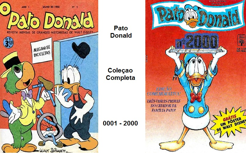 Download de Revista Pato Donald Completo (0001 a 2000)