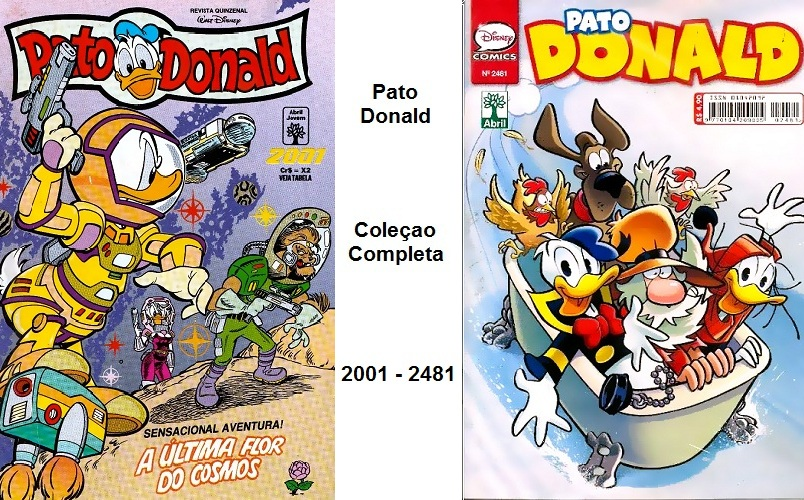 Download de Revista Pato Donald Completo (2001 a 2481)